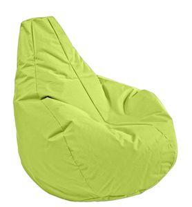 Sitzsack Gamer in der Farbe apfelgrün, Durchmesser 100cm / Höhe 100cm
