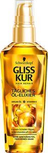 3 x Schwarzkopf Gliss Kur Tägliches Öl-Elixier Hair Repair je 75ml