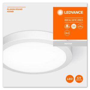 LEDVANCE PLANON ROUND LED Aufbaupaneel Kaltweiß Ø 40 cm Aluminium Weiß