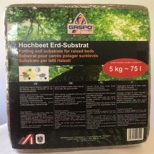 GASPO Hochbeet Erde-Substat, 5 kg Würfel