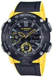 Casio G-Shock Uhr GA-2000-1A9ER Armbanduhr schwarz gelb