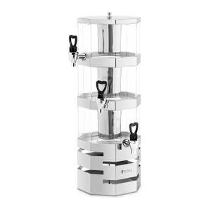 Royal Catering Saftspender - 3 x 3.5 L - Kühlsystem
