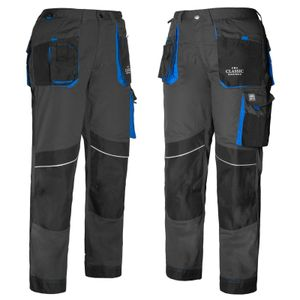 Arbeitskleidung ART.MaSter Classic Maximus schwarz/blau Hose 44