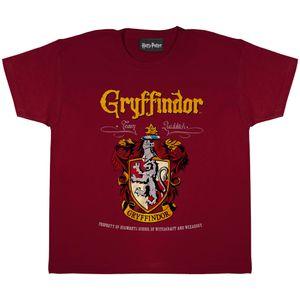 Harry Potter - Gryffindor T-Shirt für Jungen PG663 (158) (Burgunder)