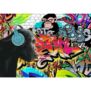 Graffiti 9169b RUNA Graffiti VLIES FOTOTAPETE XXL DEKORATION TAPETE− WANDDEKO 308 x 220 cm