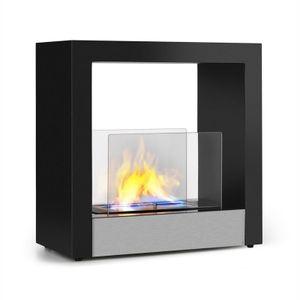 Phantasma Cube Ethanol-Kamin rauchfrei Edelstahl-Brenner 4h Edelstahl