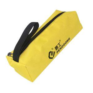 Oxford Werkzeugtaschen Werkzeugrolltaschen Rolltaschen Werkzeug Tasche mit Reißverschluss Farbe Gelb