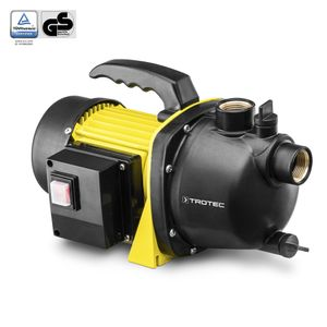 TROTEC Gartenpumpe TGP 1000 E | Wasserpumpe | Pumpe | Teichpumpe | Regenwasser