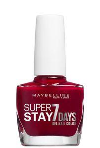 Maybelline SuperStay 7 Days, Rot, Cherry Sin, Färbung, 1 Stück(e), Bürste, ETHYL ACETATE, BUTYL ACETATE, NITROCELLULOSE, PROPYL ACETATE, ISOPROPYL ALCOHOL, TRIBUTYL CITRATE,...