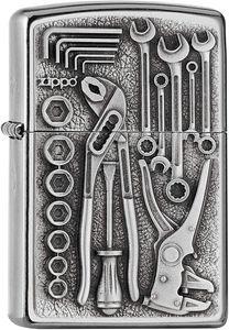 ZIPPO ® Feuerzeug 2007114 Toolbox Emblem Werkzeug