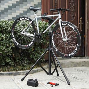 SONGMICS Schwerlast Fahrradmontageständer 118-177cm Reparaturständer Arm aus Aluminiumlegierung für Fahrradreparatur SBR03B
