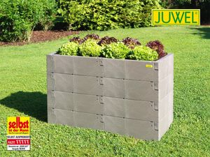 Juwel Hochbeet Timber 130x60x80 cm, 4er-Set