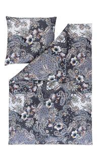 Estella Mako-Interlock-Jersey Bettwäsche 2 teilig Bettbezug 135 x 200 cm Kopfkissenbezug 80 x 80 cm Delana taube
