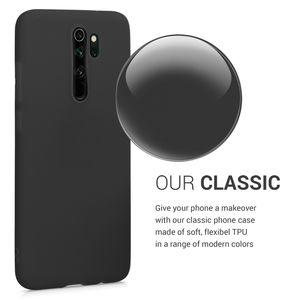 kwmobile Hülle kompatibel mit Xiaomi Redmi Note 8 Pro - Hülle Handyhülle - Handy Case in Schwarz matt