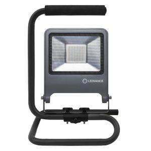 LEDVANCE WORKLIGHT 50 W LED Mobiler Strahler Kaltweiß 39,5 cm Aluminium  /  Stahl Dunkelgrau