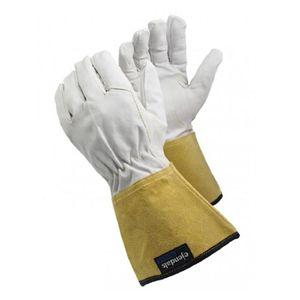 1 Paar TEGERA 126 WIG Schweißerhandschuhe Ziegenleder Schweisserhandschuhe, Konfektionsgröße:10