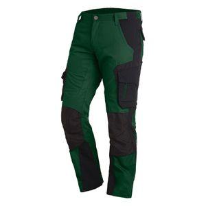 FHB Arbeitshose FLORIAN 125100 grün/schwarz Größe: 64