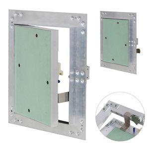 Revisionsklappe Revisionstür Aluminium-Rahmen Gipskarton Revisionstür V2Aox, Größe:40 x 40 cm