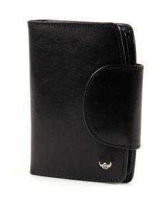 Golden Head Colorado Classic Wallet with Snap Closure Black