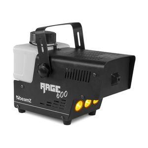 Beamz Rage 600LED Nebelmaschine  ,  600 Watt  ,  Ausstoßvolumen: 65 m³ pro Minute  ,  Tankvolumen: 0,5 Liter  ,  Aufheizzeit: 3 Minuten  ,  Nachheizzeit: 1 Minuten  ,  LED: 3 x bernsteinfarben  ,  Kabelfernbedienung & Fernbedienung