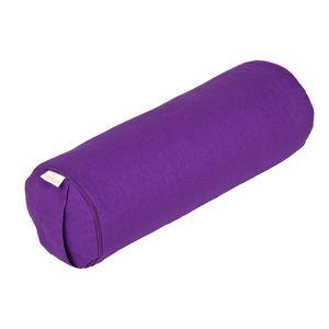 Yoga MINI BOLSTER / Nackenrolle BASIC, lila