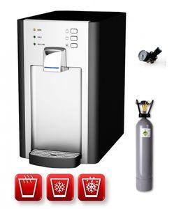 Auftisch-Tafelwasseranlage RED DIAMOND 1.0 (Option CO2 Eigentumsflasche: 2kg CO2 Flasche)