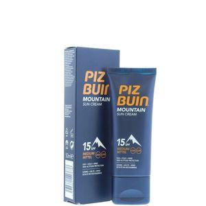 Piz Buin Sun Cream Mountain SPF 15 mittlerer Schutz 50 ml