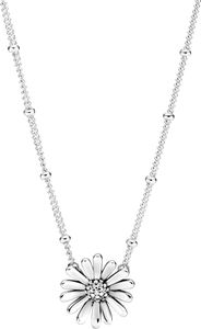 Pandora Halskette 398964C0145cm Pave Daisy Flower Sterling silver clear cubic zirconia 45