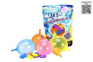 Toi-Toys wasserballons selbstschließend junior latex 100 Stück