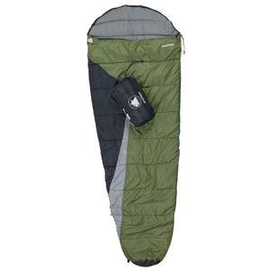 10T Sheffield - Einzel Mumien-Schlafsack 225x80cm Kompakt-Packmaß 35x22cm bei 1250g bis -9°C