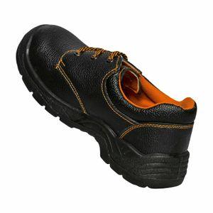 Arbeitsschuhe BTPuS3 ergonomische S3 Halbschuhe schwarz/orange 42