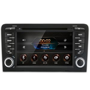 7 Zoll 2DIN Autoradio Für Audi A3 Navigaition DVD GPS DAB Navi doppel Seite