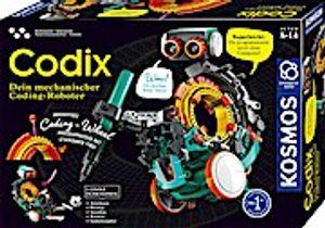 Kosmos Codix Dein mechanischer Coding-Roboter Experimentierkasten