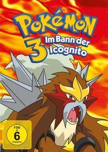 Pokemon 3 - Im Bann der Icognito (DVD) Min: 74DD5.1WS - Polyband & Toppic  - (DVD Video / Zeichentrick)