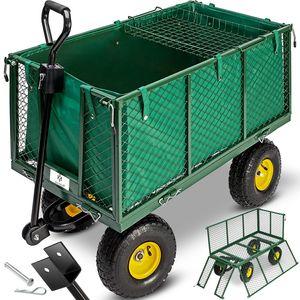 Kesser® Bollerwagen 550kg Transportwagen Gartenwagen Gerätewagen Handwagen NEU, Größe:Bollerwagen 550Kg