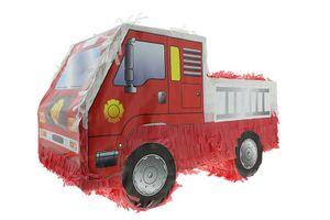 Pinata Feuerwehrauto Auto Geburtstag Kindergeburtstag Party Deko Artikel