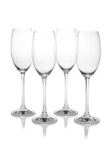 Nachtmann Vorteilsset 4 x  4 Glas/Stck Champagnerkelch 50/38 Vivendi  85695 und Gratis 1 x Trinitae Körperpflegeprodukt