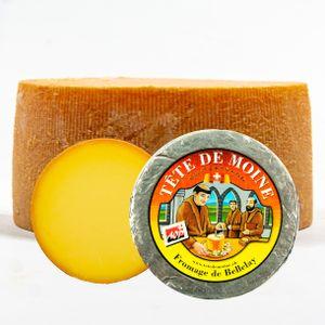 Food-United TETE DE MOINE AOC-AOP Schweizer Mönchskopf-Käse-Laib 800g