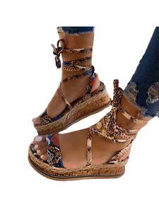 Damen Plateau High Heels Mode Lässige Knöchelschnalle Spitzensandalen,Farbe:Khaki,Größe:38