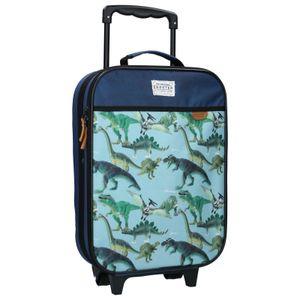Koffer Trolley Kinderkoffer Handgepäck Kindertrolley Trolly Jungen Dinosaurier