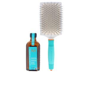 Moroccanoil Treatment 100ml + Ceramic Paddle Brush