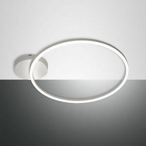Fabas Luce Giotto Länge 69 cm weiß 1-flammig rund