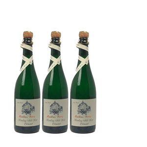 Winzersekt Riesling Mosel Weingut Markus Burg Qualitätswein trocken und vegan (3x0,75l)