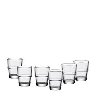 Leonardo Solo Espresso 6er Set, Espressoglas, Espresso Becher, Kaffee, Glas, 100 ml, 19872
