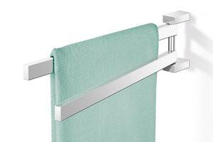 ZACK Edelstahl Handtuchhalter LINEA hochglänzend schwenkbar Handtuchstange 40025