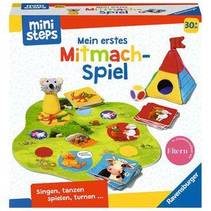 RAVENSBURGER ministeps Mein erstes Mitmach-Spiel lustiges Bewegungsspiel Spiel