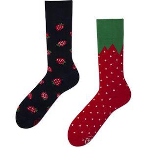 Many Mornings Strawberries Socken Musterung, Größe:35-38