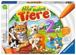 Ravensburger Alle meine Tiere tiptoi Spiele/Puzzles