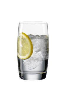 Bohemia Wasser,- Longdrinkglas 6 Tlg. Life Kristallglas spülmaschinengeeignet