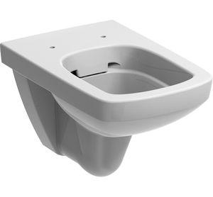 Ceravid Vanea Wand WC Tiefspüler Rimfree ohne SpülraNd, weiß alpin, ohne Deckel ca5050000